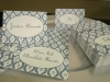 Floral Place Cards and Desserts Cards