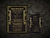 Gatsby Geometric Wedding Invitation