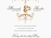 Chandelier Invitation