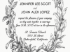 Laurel Wreath Invitation