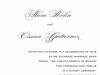 Parfumerie Invitation